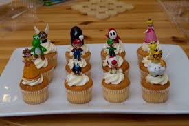 Mario cupcake recipes and cute cookies | 10 cute cupcake decorating design ideas for party link video i decided to make a mixture of super mario with very popular sweets, and the idea of combining mario plus cupcake, ended up leave your comments with ideas, i always end up taking a look, and. Super Mario Bros Party Ideas And Free Printables Holidappy