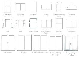 Standard Window Dimensions Denah Co