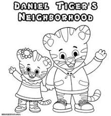 Daniel Tiger Free Coloring Pages At Getdrawingscom Free For