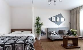 Decorating One Bedroom Apartment Cool How To Create A Studio Apartment Layout That Feels Functional