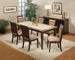 Granite Top Kitchen Table And Chairs Refinish Oak Dining Room Table The Best Home Design