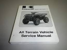05 13 kawasaki brute force 650 kvf650 4x4 atv service repair 2006 genuine kawasaki brute force 650 4x4i atv all terrain service shop manual
