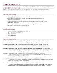 Lpn Resume Sample Impressive Free LPN Licensed Practical Nurse Resume Example I Am A Nurse Resume