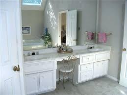 single sink vanity with makeup area bathroom vanity with makeup area double sink in master bath