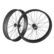 Lamere carbon hookless bead fat bike rims available in 65mm, 85mm, 90mm external width, all 32 hole. 26er Carbon Fatbike Wheelset 90mm Ican Cycling Ican Wheels
