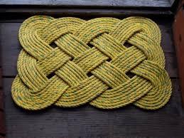 30 X 20 Rope Rug Doormat Yellow - Create Alaska | Alaska's ...