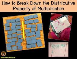 Properties Of Multiplication Chart Distributive Property Of Multiplication How To Break It
