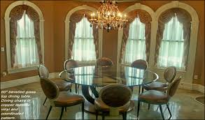 dining room table glass inlay. 72\ dining room table glass inlay e