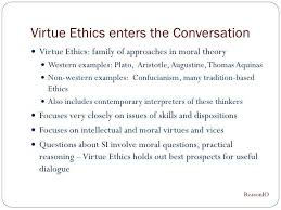 virtue ethics example phi ethical issues in health care  virtue ethics si presentation