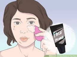image led cover dark spots on your face step 1