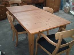 kitchen tables pine with rustic dining room table oak