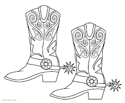 Boot Coloring Page Related Post Puss In Boots Colouring Pages To
