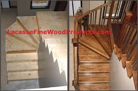 new home construction hardwood steps w78 steps