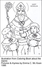 Small Picture saint nicholas coloring pages Coloring Pages Ideas