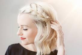 بالصور تسريحات الشعر القصير مع الضفائر مجلة سيدتي