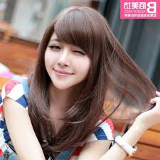 Japanese Straight Hair Style korean haircut for girls with round face japanese hairstyle round 2755 by stevesalt.us