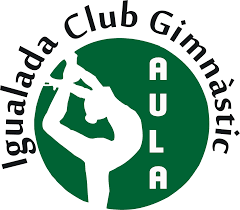 Resultat d'imatges de igualada club gimnastic aula logo
