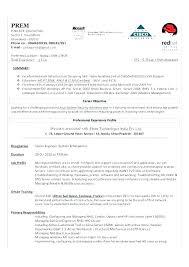 Linux System Administrator Resume System Administrator Resume Sample