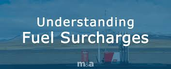 National Fuel Surcharge Chart 2019 Understanding Fuel Surcharges