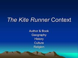 the kite runner context ppt 2 the kite runner context author book geography history culture religion