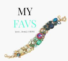 mixed crystal jewelry from j crew my favs this fall on ct in style a connecticut based lifestyle blog