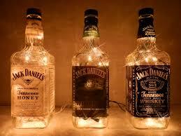Trip Jacks 3 Jack Daniel\u0027s Lighted Bottles | Men cave, Cave and Bottle