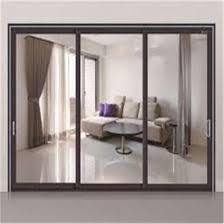 china steel metal framed safety glass