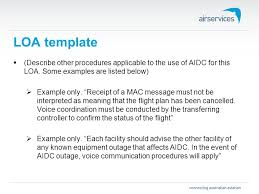 Loa Template Aidc Implementation Seminar 28 Th – 31 St October 2014 ...