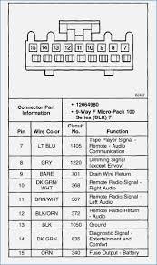 2002 chevy tahoe radio wiring diagram preclinical co