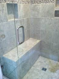 steps to tile a shower tile shower with bench bath remodel diy mosaic tile shower floor