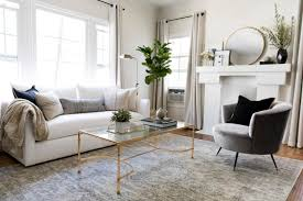 chic living room. Bright And Chic Living Room Decor O