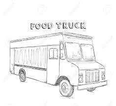 ベクトル イラスト無料トラックの高速食品を提供しますラインの Webサイト広告バナーポスター掲