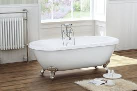 roma traditional double ended roll top bath with ball and claw feet no fsb006