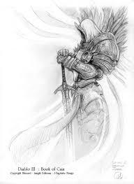 A Black White Look At Diablo Iii 111 татуировки татуировка