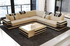 Couch L Form Beige