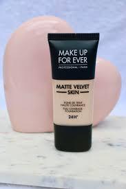 make up forever matte velvet skin full coverage foundation