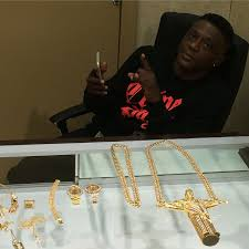 boosie at king johnny s getting his jewelry game right