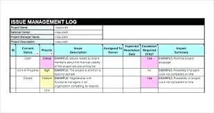 Skill Set Template Issue Tracking Template 7 Free Download For Excel Sample