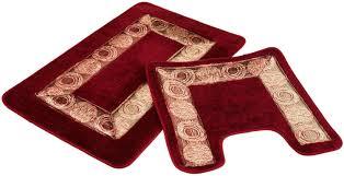 cherry red bathroom rugs bath rug home design 6