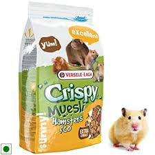 Buy <b>Versele Laga</b> Hamsters and Co <b>Crispy Muesli</b> Food (1kg ...