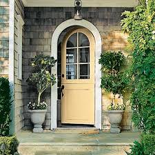 colored front doorsFront Door Color of the Day  Golden Honey  GemOfTheWeek