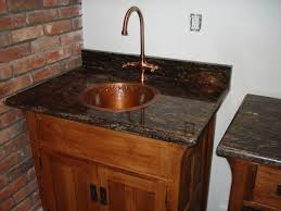 hand made arts and crafts quartersawn oak bar sink cabinet by mountain woodworks custommade com