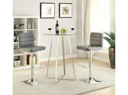 best pub table chairs of coaster glass modern 3pc bar table set