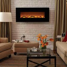 best ing 50 inch wall mount electric fireplace natural looking flames smokeless