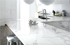 clean carrera marble countertop