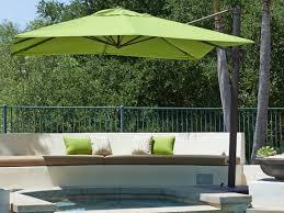 outdoor and patio modern outdoor cantilever umbrella square