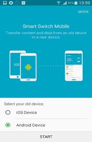 Samsung smart switch erkennt iphone nicht