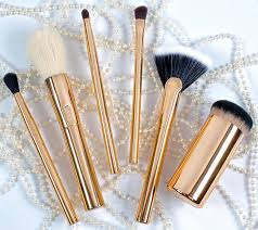how much are tarte x nicol concilio makeup brushes these golden tools are worth it photo