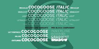 The Sans Semi Light Cocogoose Pro Fantastic Fonts Fonts Sans Serif Typeface