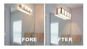 if you have hollywood lights congratulations you need to update your bathroom fixture stat
